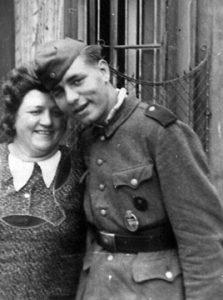 Alexander Schaaf und Mutter Helene