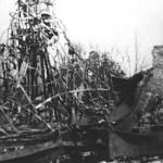 Manège Parisienne und Toboggan nach dem Angriff, April 1945