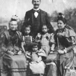 v.l.n.r.: Mutter Johanna Dorothea Emilie, Sohn Karl, Tochter Maria, Ehemann Carl, Tochter Rosa und Emilie Schaaf
