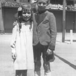 Tochter Liselotte und Sohn Alexander