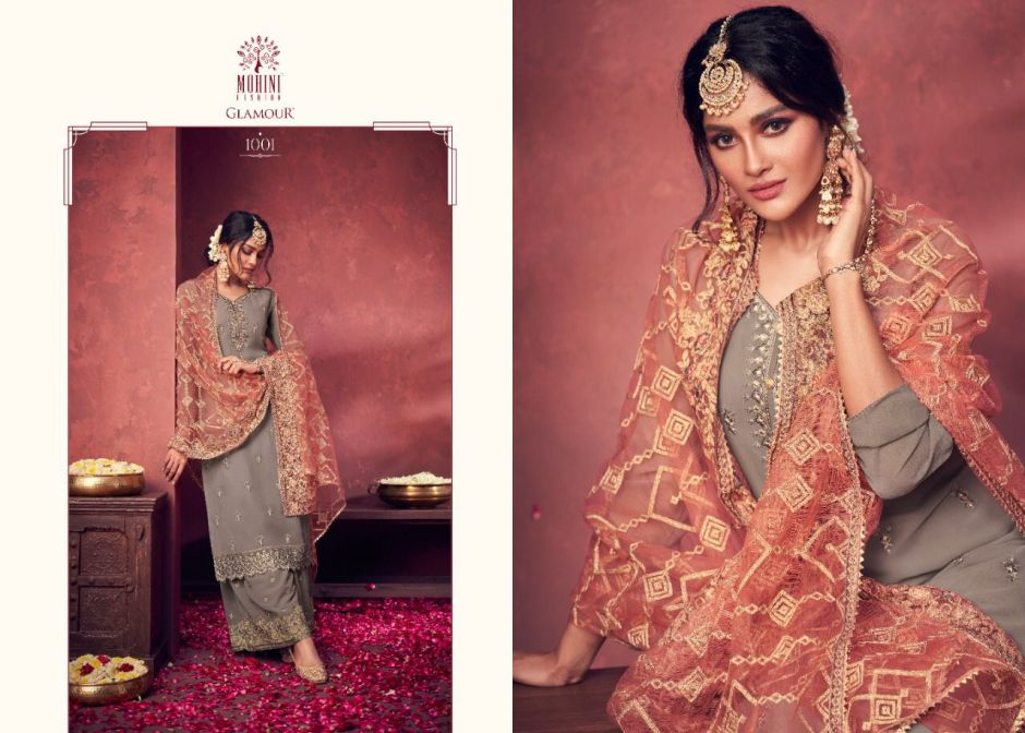 mohini fashion glamour vol series party wear suits collection surat