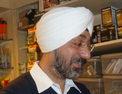 Mr Inderjeet Singh of Quick Electronics