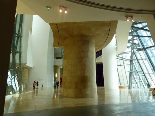 vaulted lobby