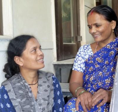 Meena and Pamma