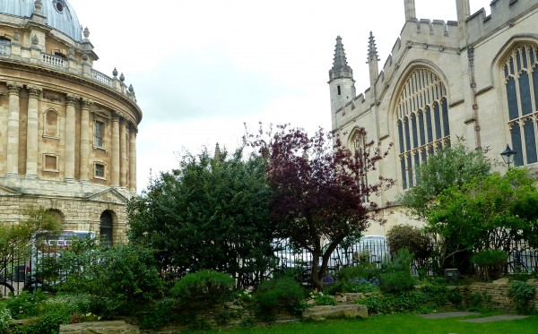 The Vaults and Garden: in between the Radcliffe Camera, All Souls and Brasenose College
