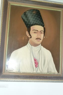 18th century Parsi merchant in Ahmadabad