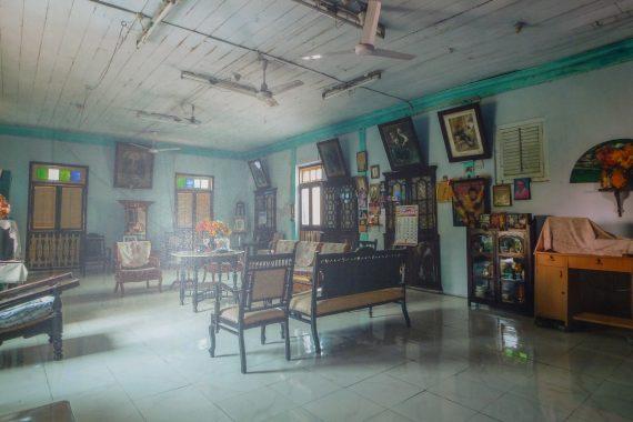 Interior of Parsi mansion