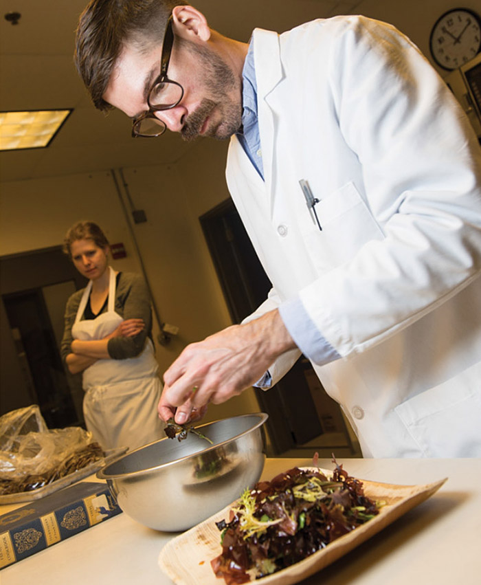 Chef-Pesquisador Jason Ball