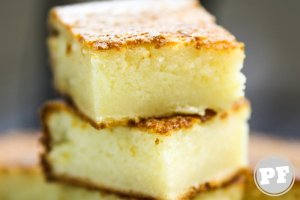 Butter Mochi: Bolo de Arroz Glutinoso e Coco do Hawaii