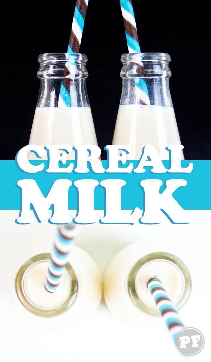 Cereal Milk: Leite de Cereal do Milk Bar por PratoFundo.com