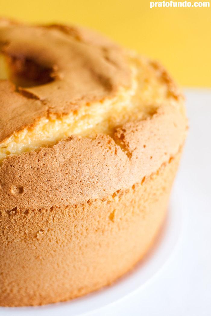 Receita: Chiffon Cake de Yuzu via PratoFundo.com