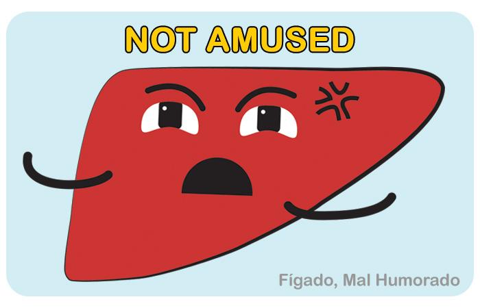 Fígado não muito feliz por PratoFundo.com