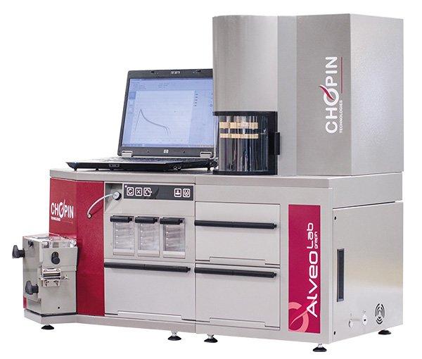 Imagem do equipamento alveografo