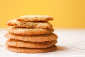 Cookies de Limão Siciliano & Semente de Papoula