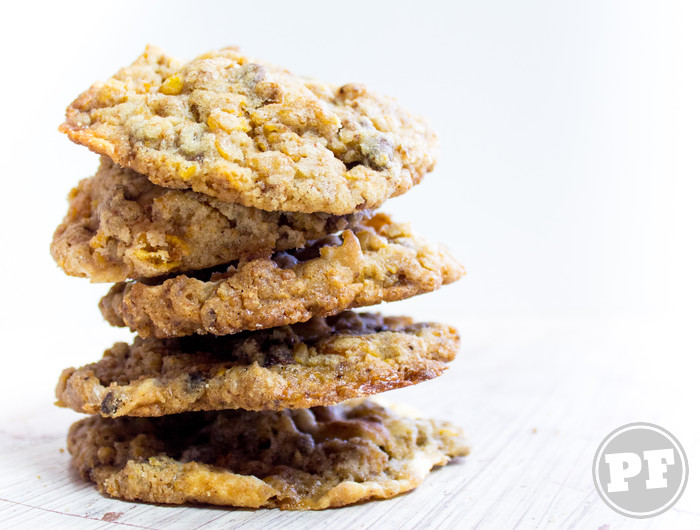 Cookies de Milho e Marshmallow por PratoFundo.com