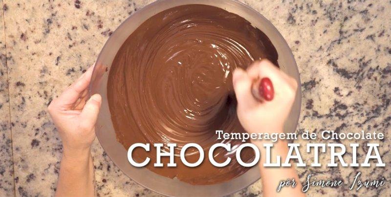 Aula 2: Temperagem de Chocolate