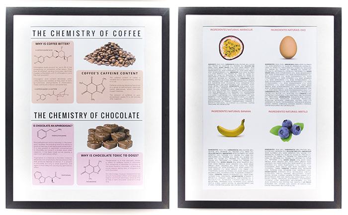 Poster Chocolate e Ingredientes