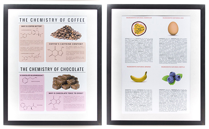 Poster Chocolate e Ingredientes