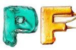 The Candy Alphabet: Alfabeto Doce - PF