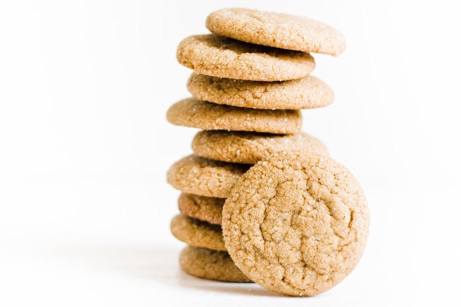 Gingersnaps: Cookies de Gengibre por PratoFundo.com