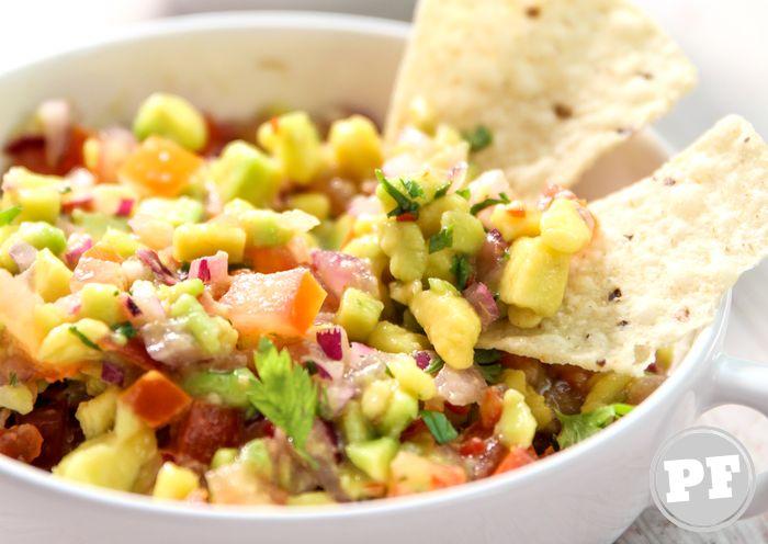 Guacamole: Salada / Pasta de Abacate