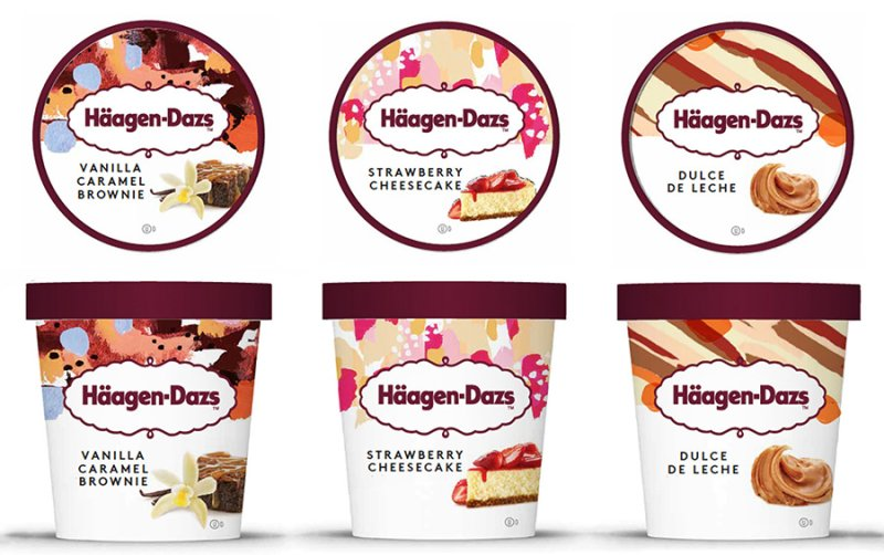 Häagen-Dazs: sorvetes