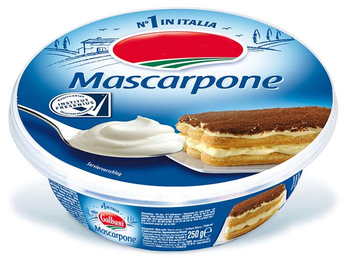 Ingredientes: Mascarpone