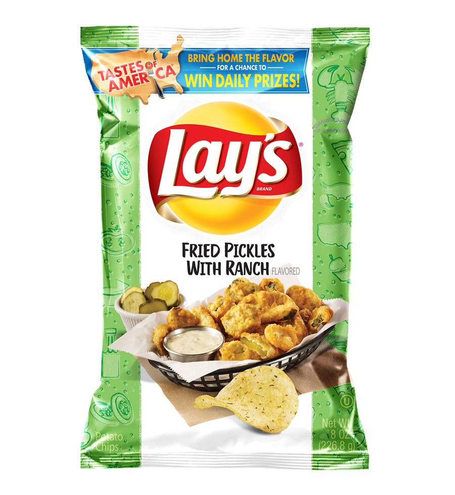 Lay's Fried Pickles with Ranch