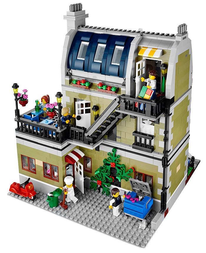 LEGO - Restaurante: fundo