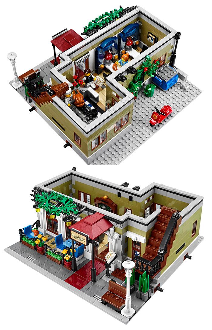 LEGO - Restaurante: interior