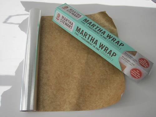 Martha Warp: Papel Alumínio e Manteiga