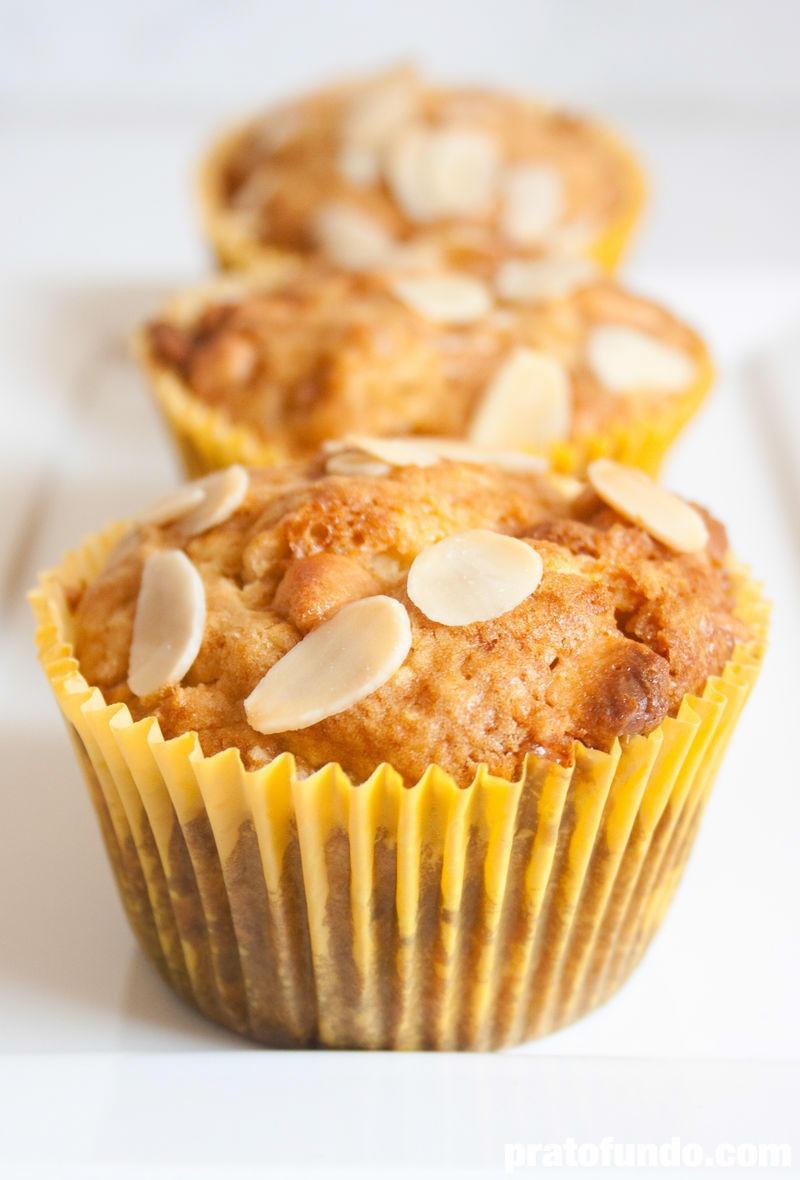 Muffin de Laranja & Butterscotch por PratoFundo.com