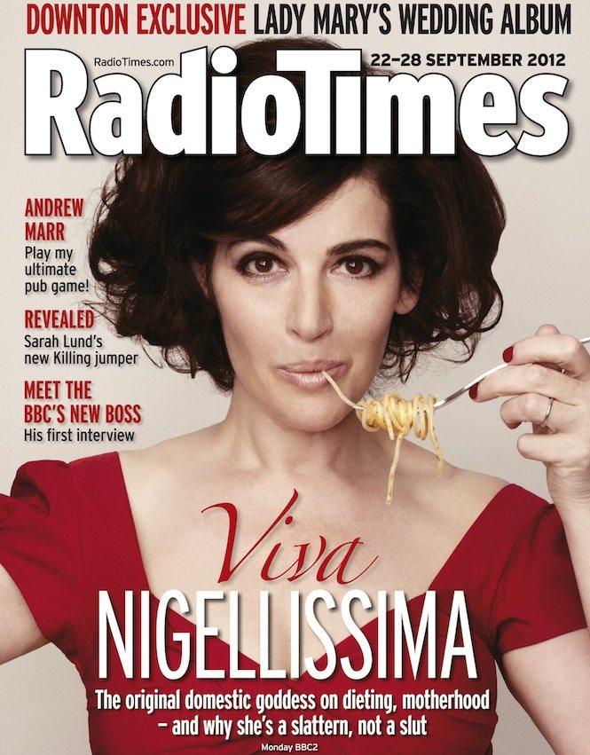 Nigellissima: Radio Times