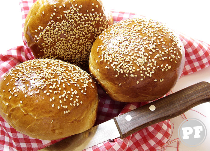 Pão de Leite Fácil por PratoFundo.com