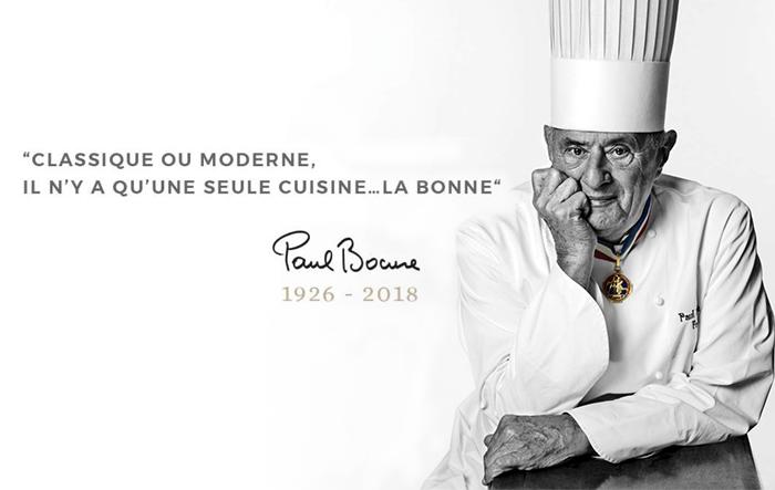 Chef Paul Bocuse, falecimento aos 91 anos
