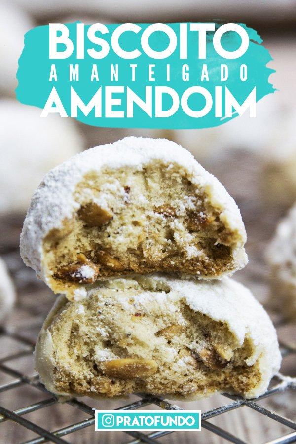 Biscoito Amanteigado de Amendoim