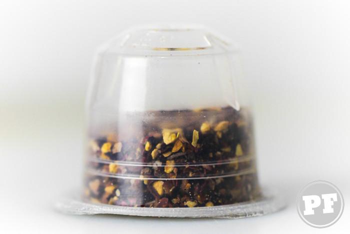 PraComer: Chá Aroma em Cápsula para Cafeteira Nespresso
