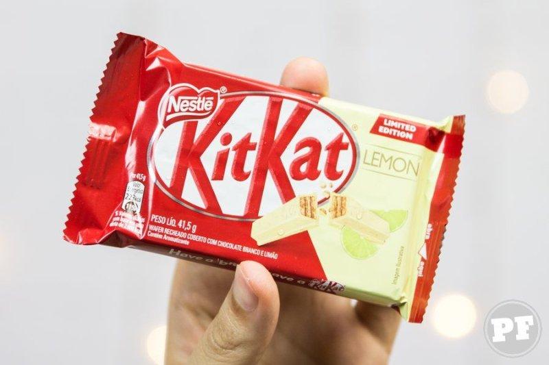 Resenha: Kit Kat Limão
