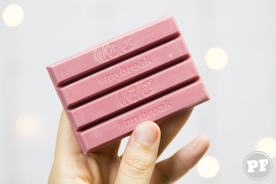Resenha: Kit Kat Ruby feito com Chocolate Rosa por PratoFundo.com