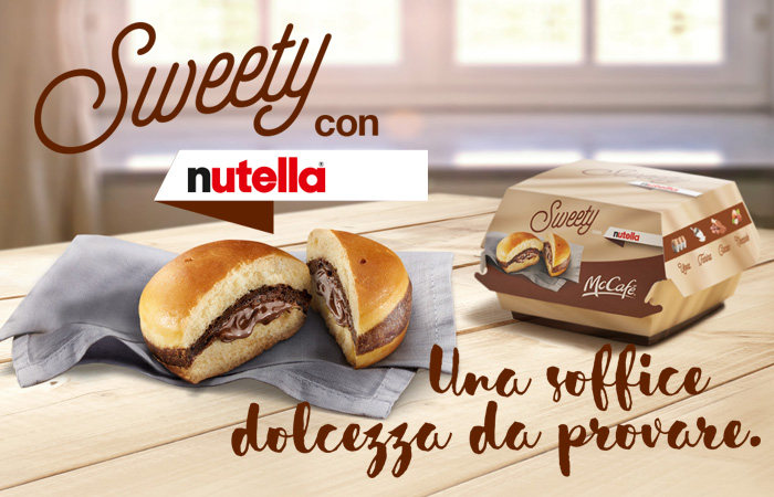 Sweety con Nutella - McDonald's Itália