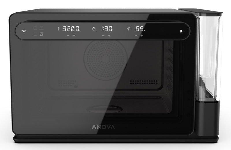 Forno Anova Precision Oven sobre fundo infinito branco.