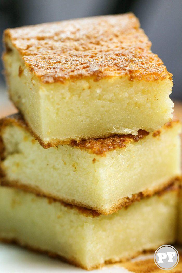 Butter Mochi: Bolo de Coco do Hawaii Sem Glúten por PratoFundo.com