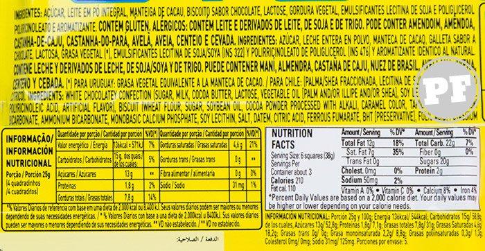 Chocolate Branco e Cookies da Garoto Negresco por PratoFundo.com