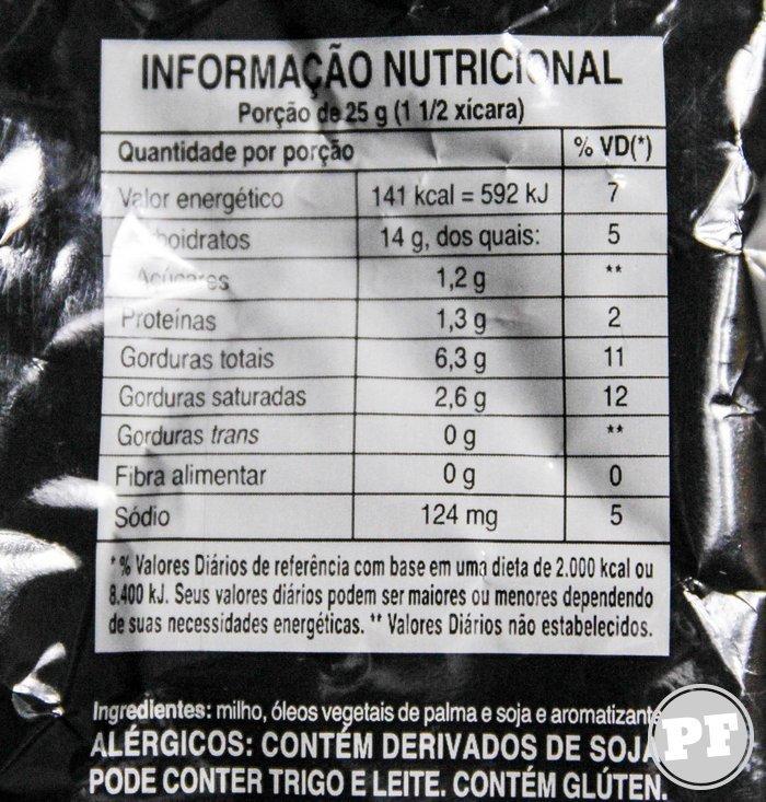 Doritos Mystery Black (Doritos Mistério)  por PratoFundo.com