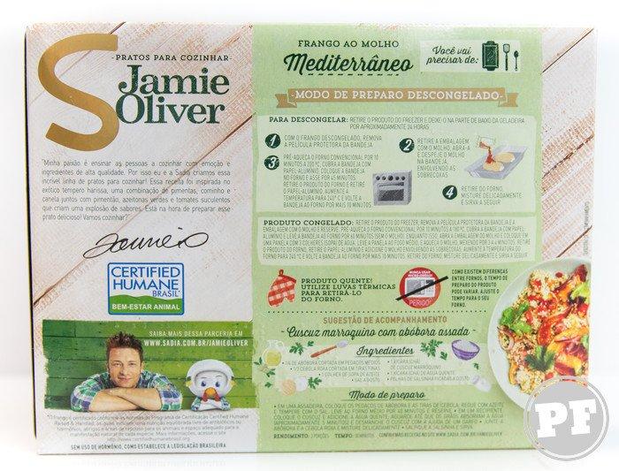 Jamie Oliver: Frango Mediterrâneo da Sadia por PratoFundo.com