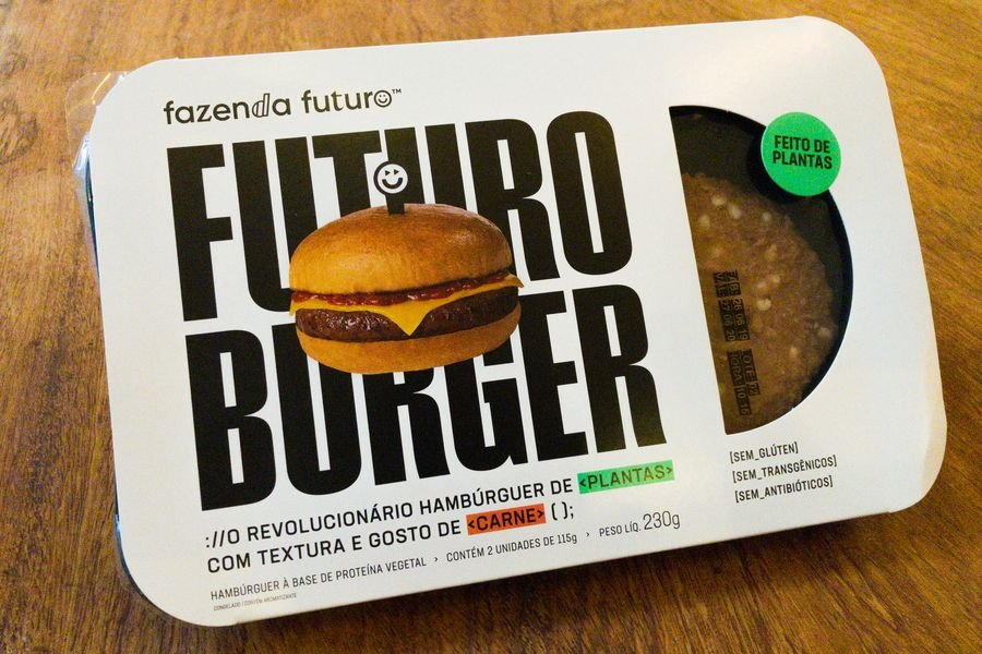 embalagem do Futuro Burger