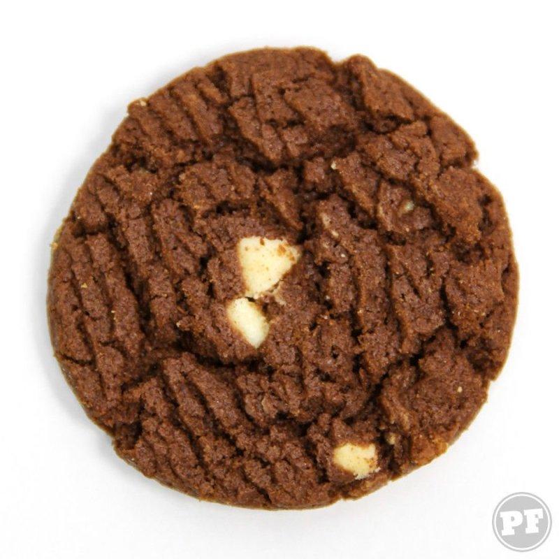 Garoto Cookie Chocolate visto de cima