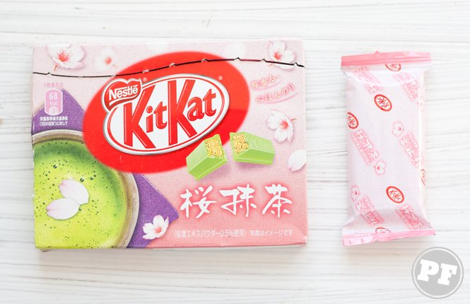 KitKat de Sakura Matchá