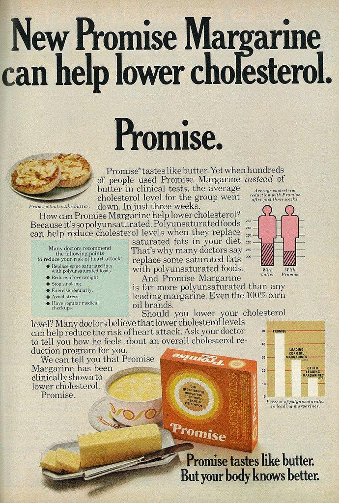 1973 Food Ad, Promise Margarine