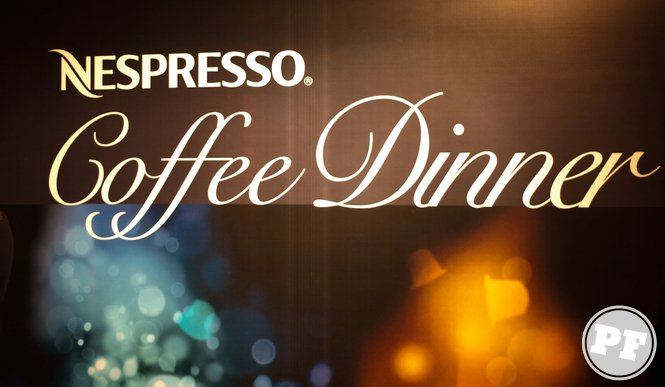 Nespresso Coffe Dinner